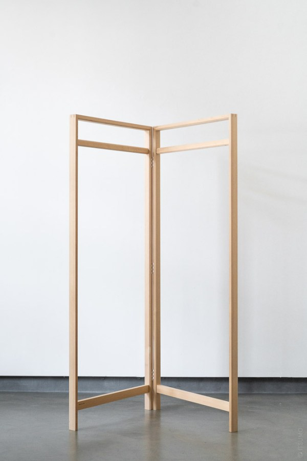 Azmaya_Hinoki Clothes Rack_wide_top