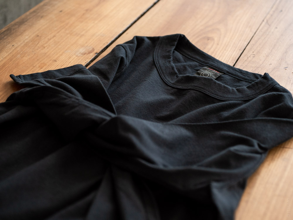 Homspun_Long Sleeve T-shirt_black