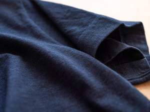 Homspun_Short Sleeve T-shirt_dark indigo_dl
