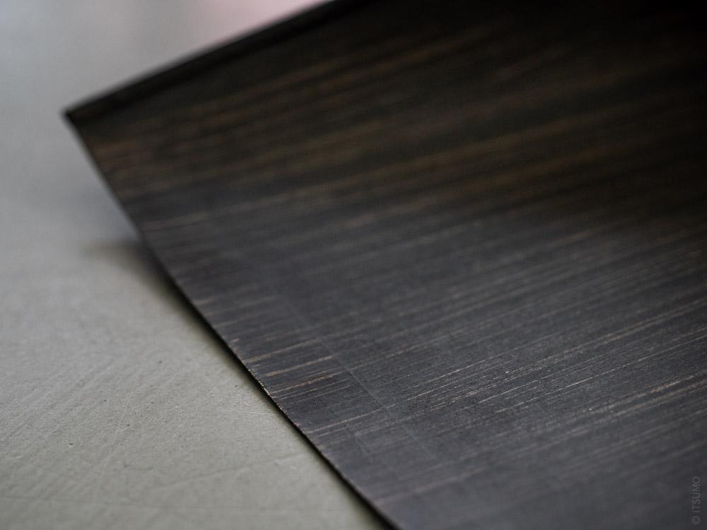 Takada_Harimi Paper Dustpan_black