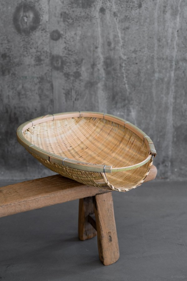 Agezaru Bamboo Basket_top