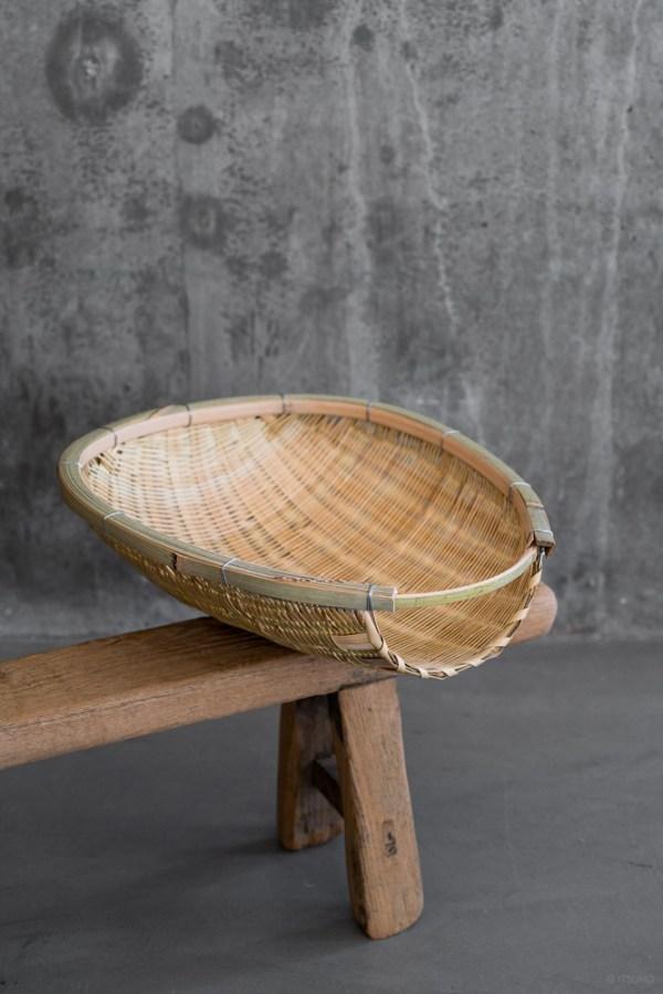 Agezaru Bamboo Basket_top