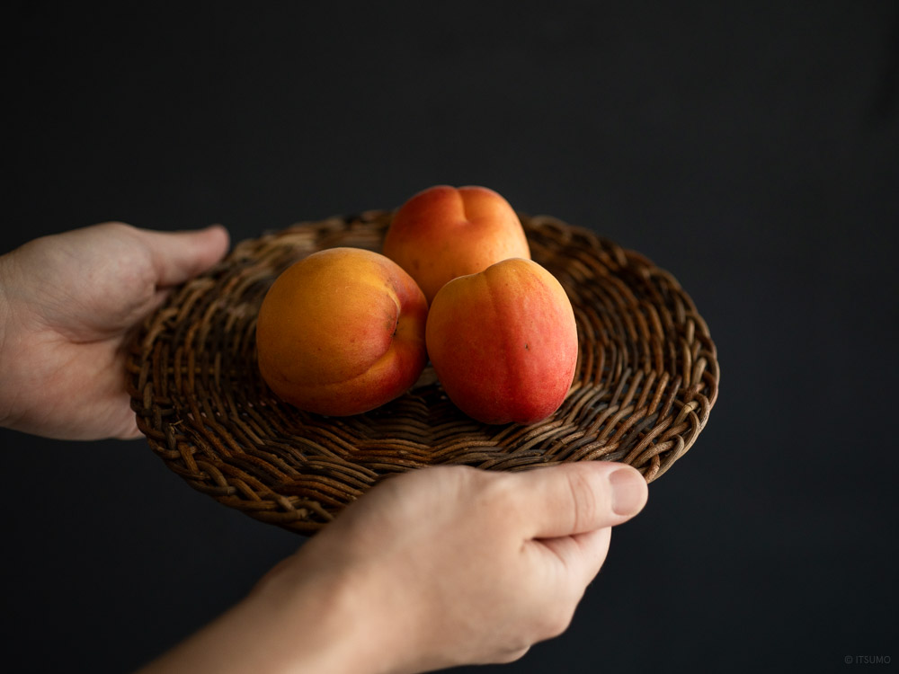 Akebi Vine Trivet_mood styling with nectarine