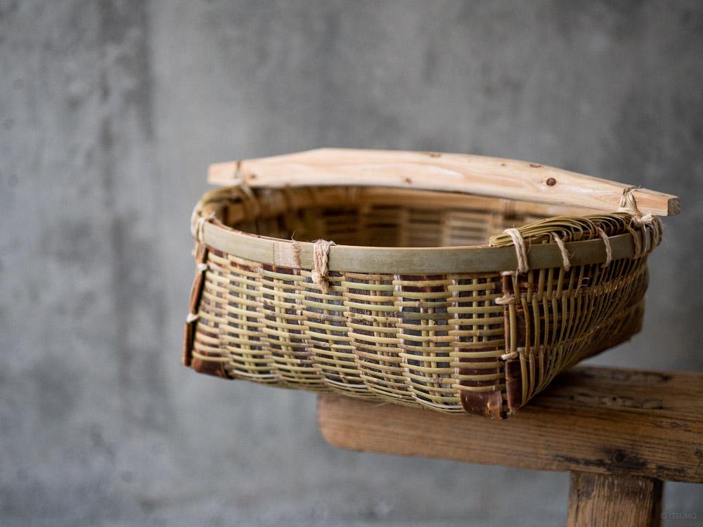 Gesuzaru Bamboo Basket-1
