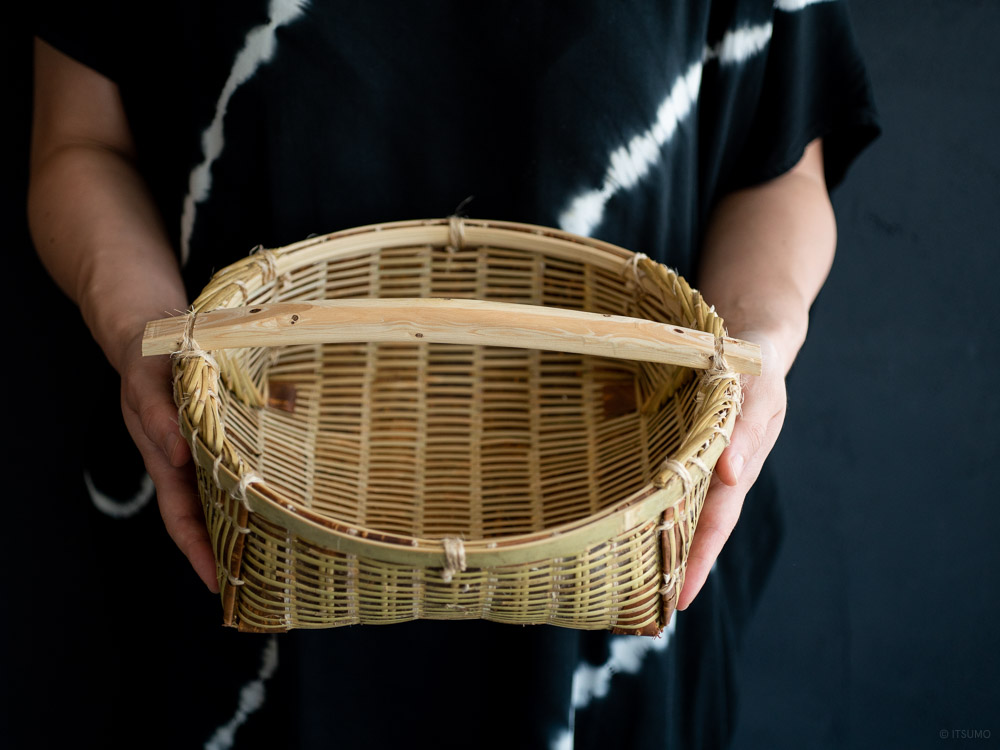 Gesuzaru Bamboo Basket-10