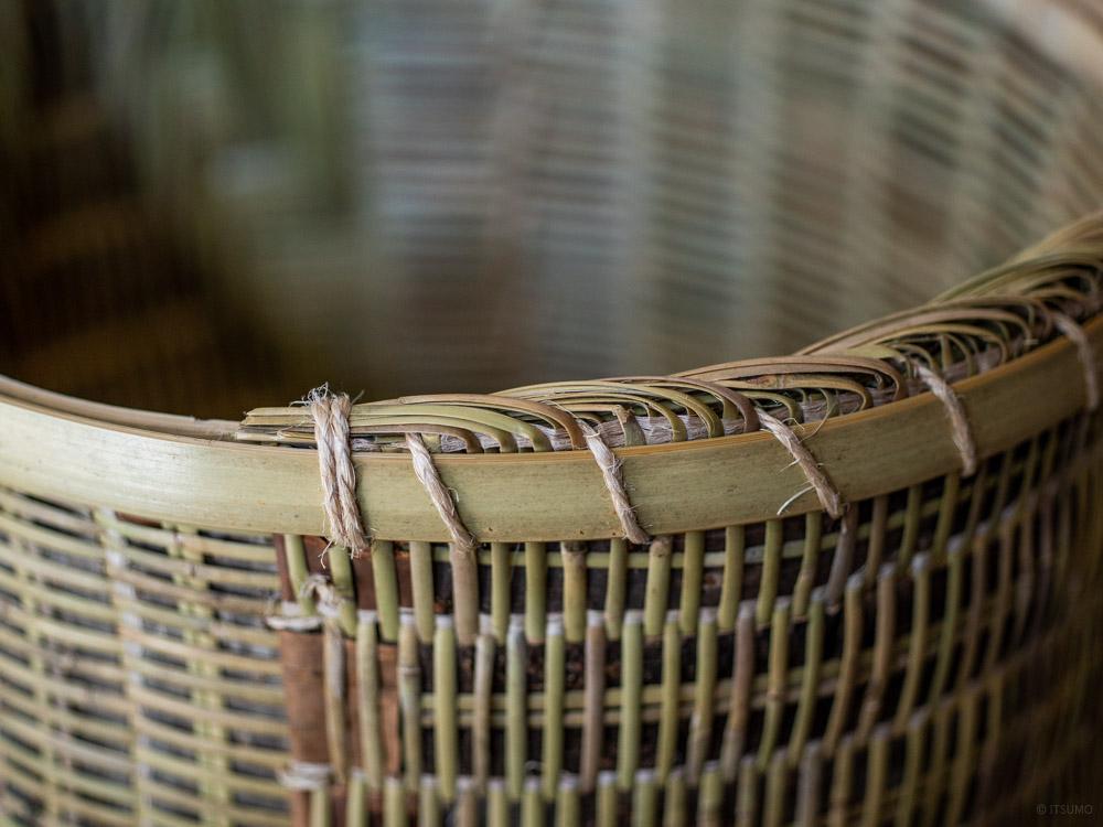Sakura Kuzu Bamboo Basket-2