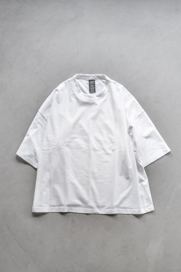 Homspun_Big T-shirt_white_top