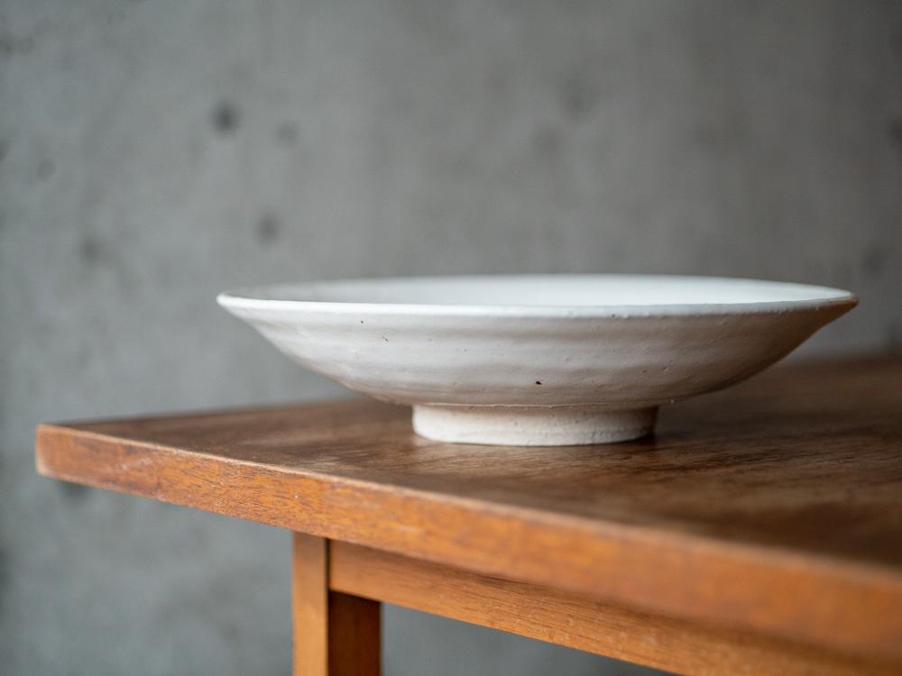 Azmaya_Iga Plate_White_Shino-3