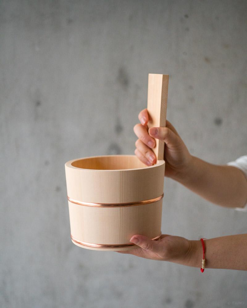 azmaya-hinoki bath pail-japanese cypress wood-4