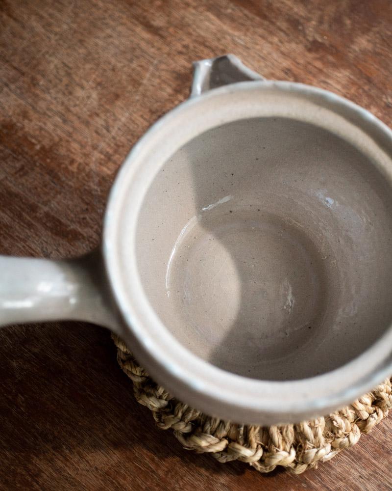 azmaya-iga yukihira pot-igaware ceramic donabe-sekkai light grey-2