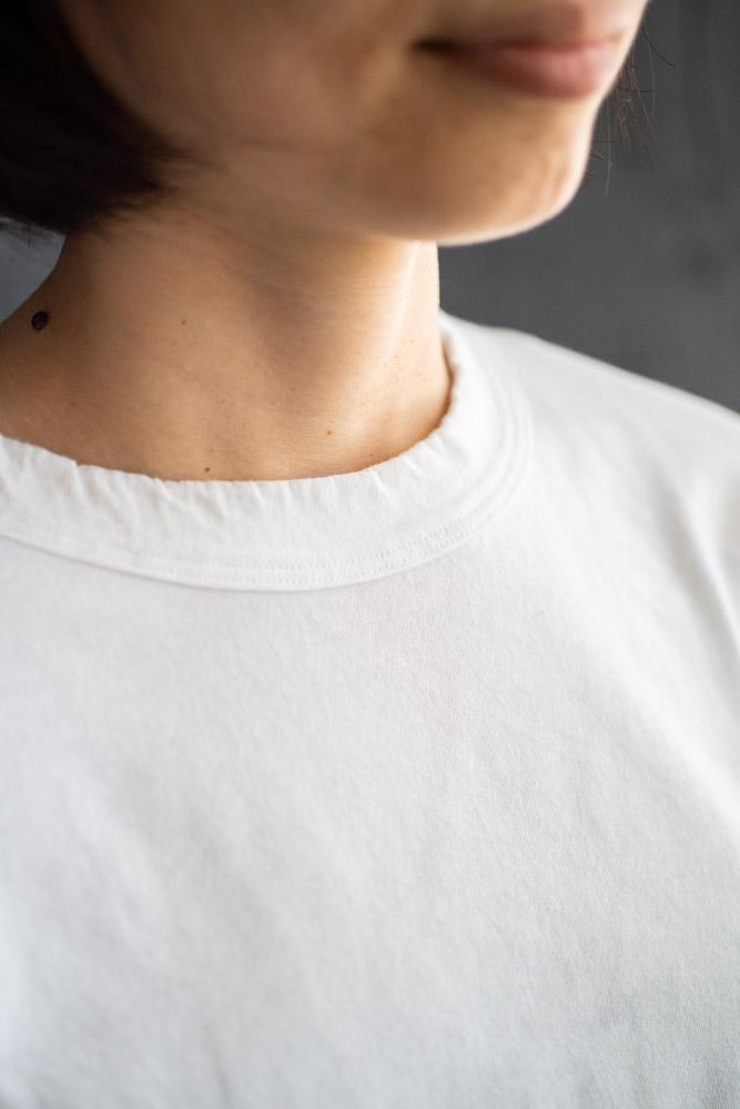 homspun-women's cotton long sleeve t-shirt-white-5