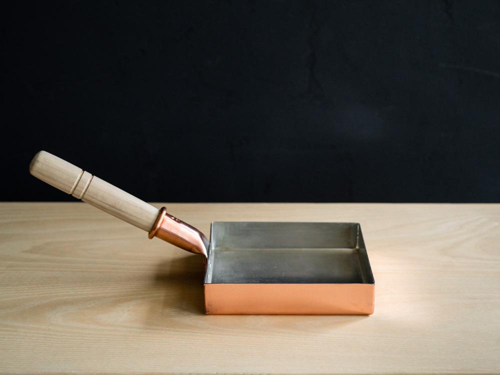 Kiya Copper Tamago Frying Pan - Square-2