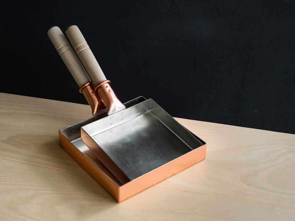Kiya Copper Tamago Frying Pan - Square-3