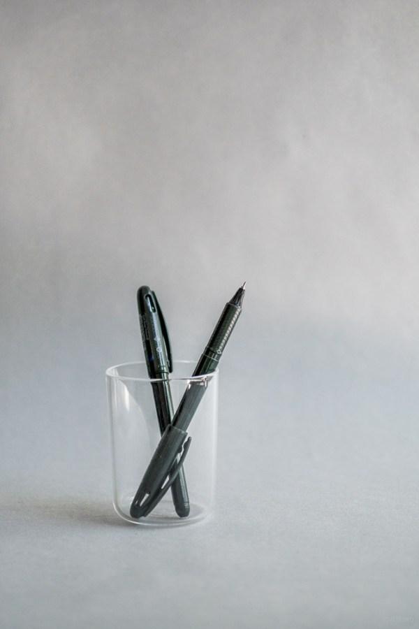 stationery craft design technology_energel tradio pen_refill ink_black blue