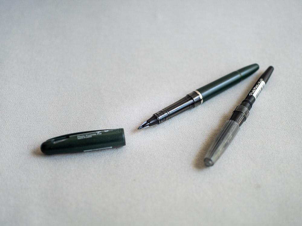 craft design technology_tradio plastic fountain pen_refil ink_black-5