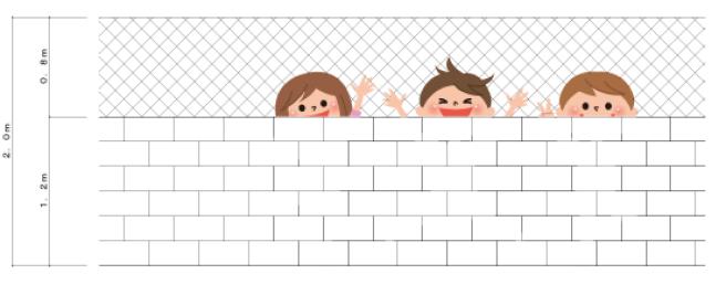 建築士試験における塀