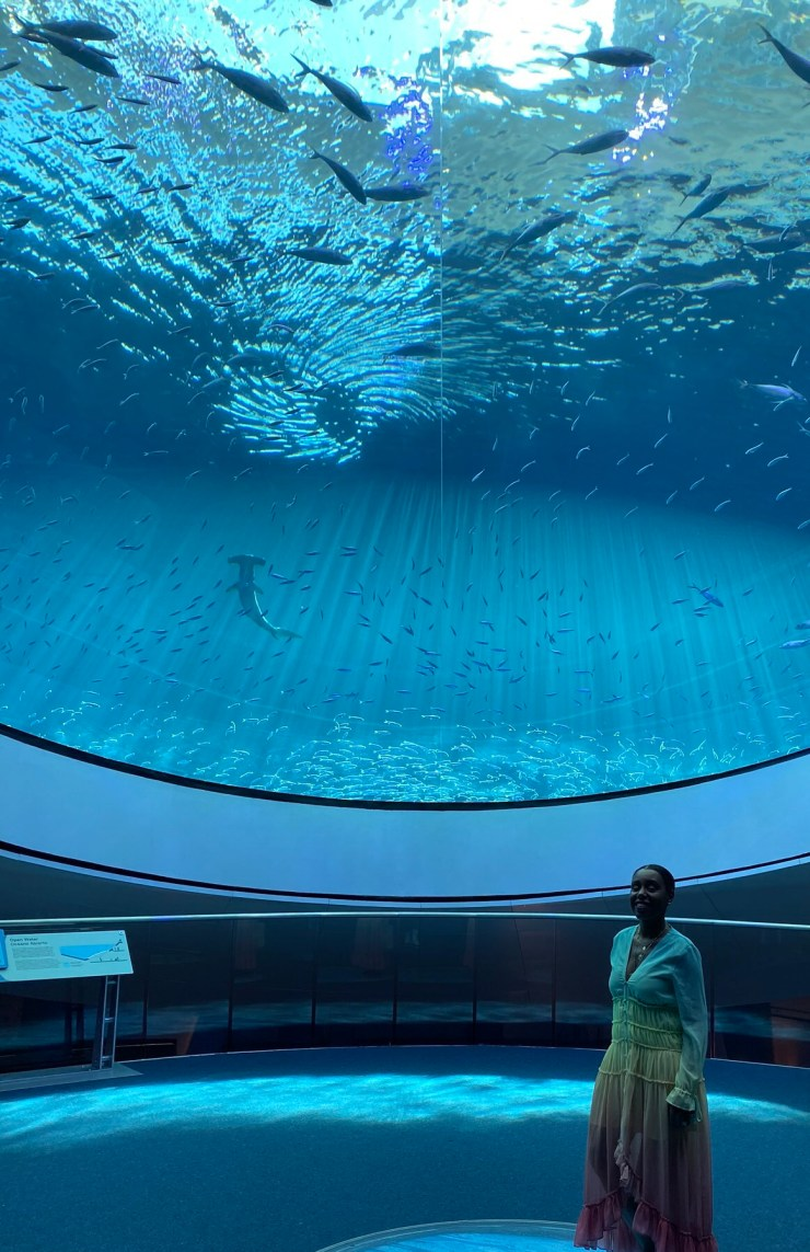 MIAMI vacation trip Frost Science Museum- Under the sea