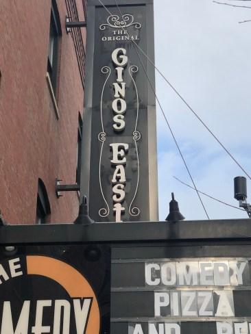 The original Gino's East Pizzeria