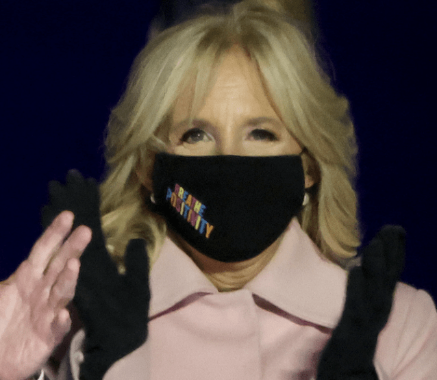BREATHE POSITIVITY jill biden