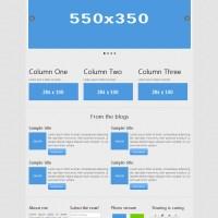 Sweat - Corporate website template