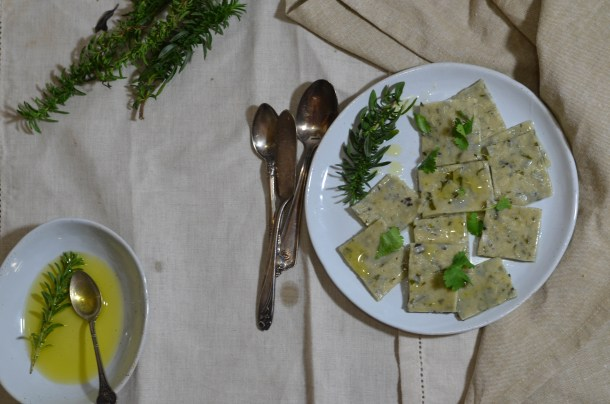 Handmade Herb Pasta- What's Cooking_