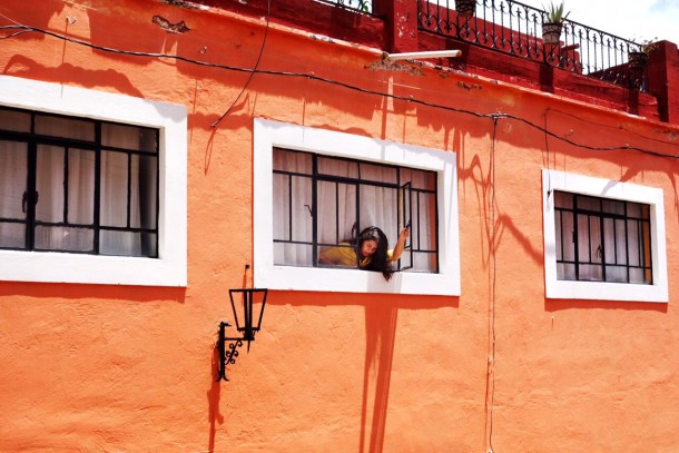 Woman in Window San Miguel