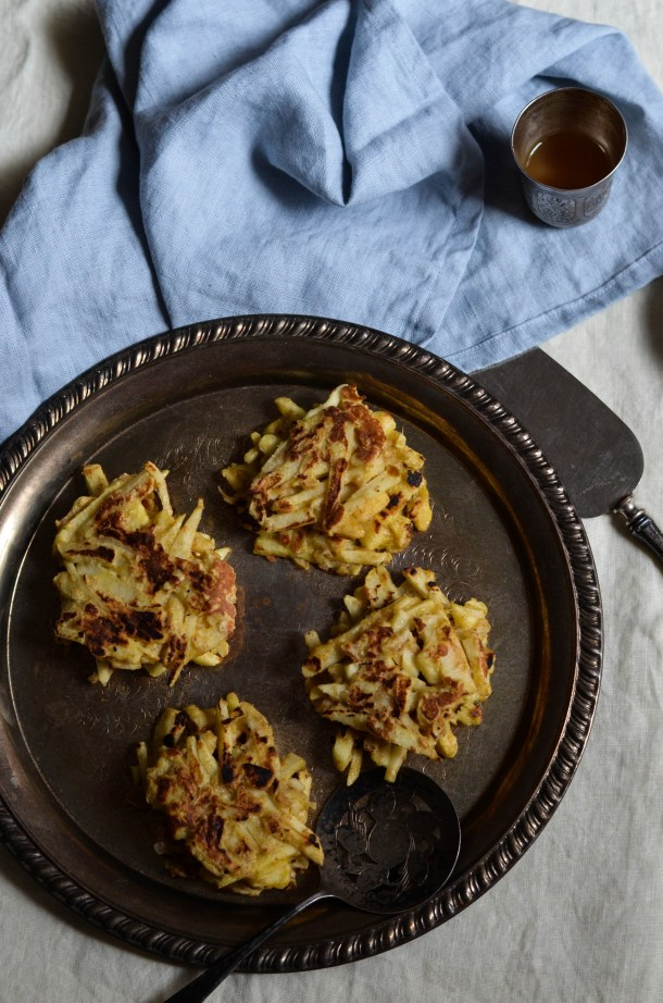Apple Latkes3 - What's Cooking_