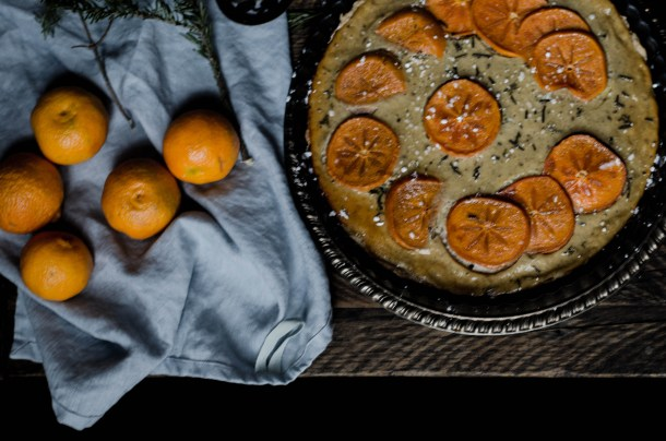 .Spiced Persimmon Tart. - What's Cooking_-2