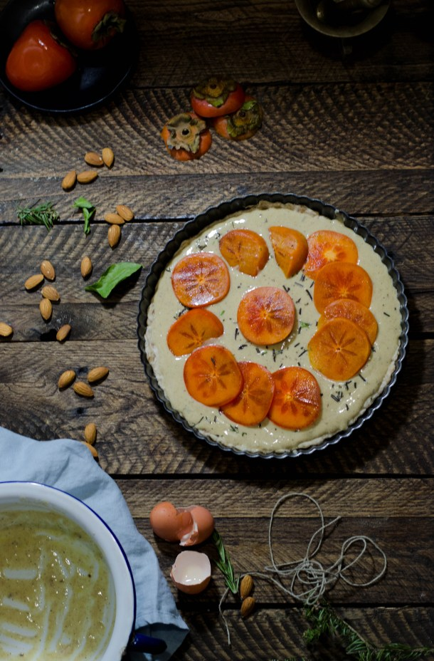 Spiced Persimmon Tart. - What's Cooking_-4
