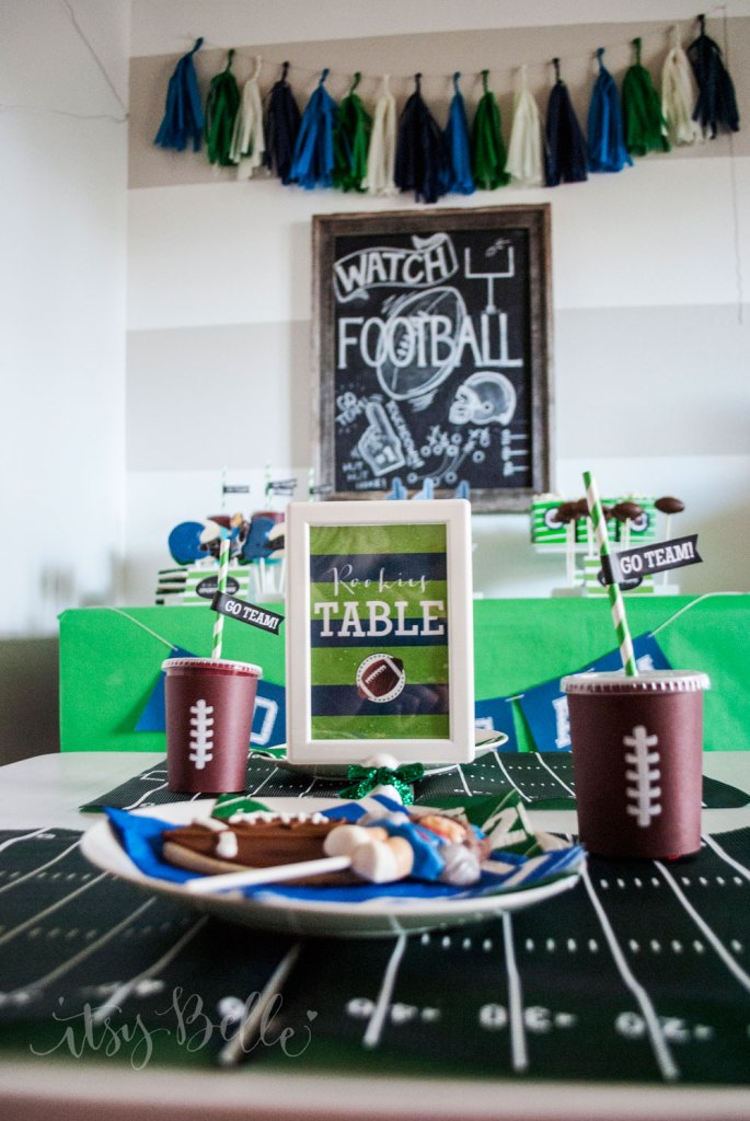 Li'l Rookies Superbowl Party by Itsy Belle