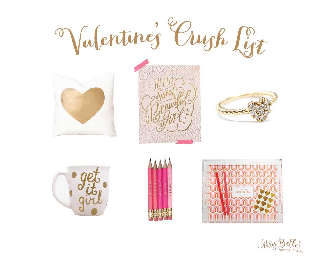 Our Valentines Crush List Gifts Wed Love To Get Amp Give