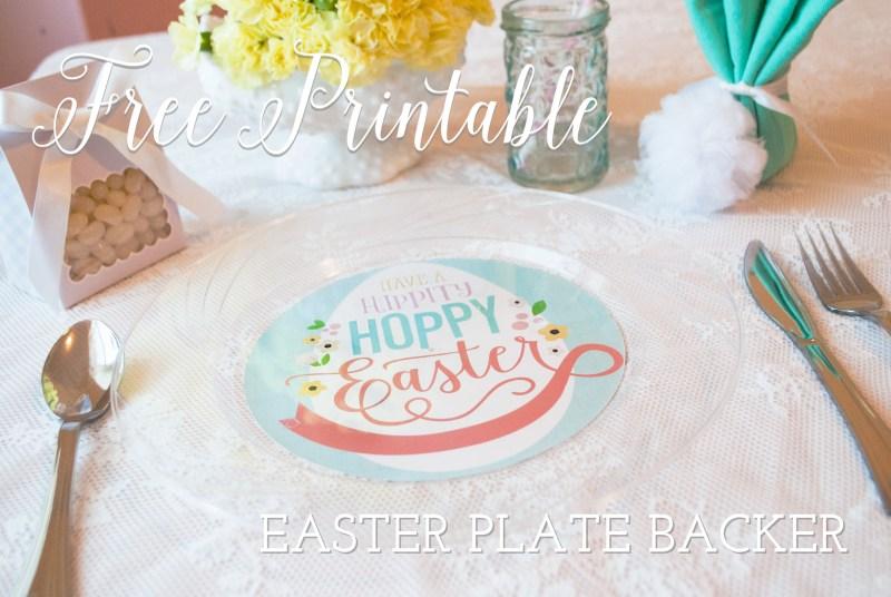 Free Easter Printable