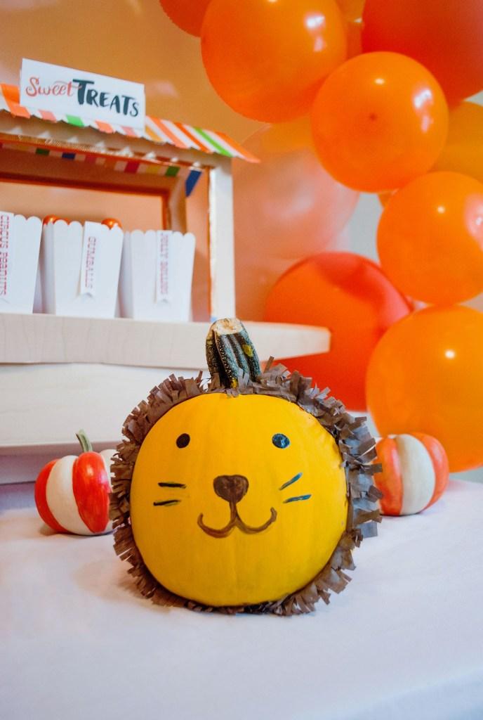 DIY Halloween Pumpkin Animals