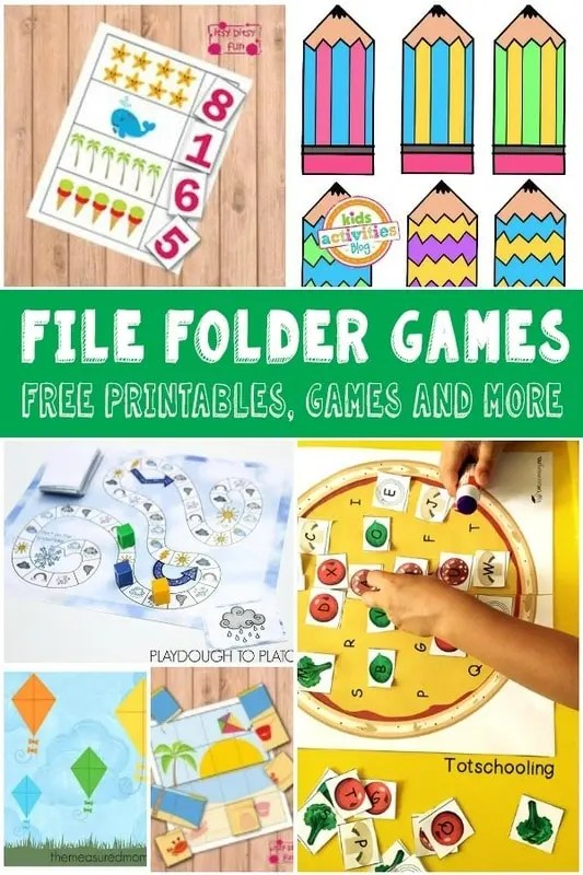 Lots Of Fun And Free File Folder Games For Kids Itsy