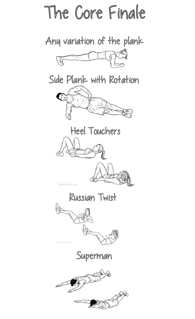 Core, workout, exercise, fitness