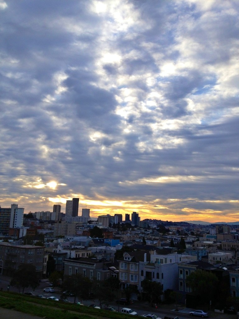 san francisco sun rise