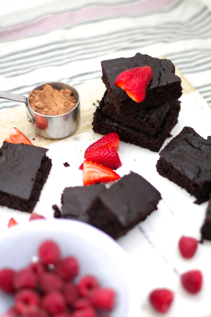 black bean brownies, healthy living