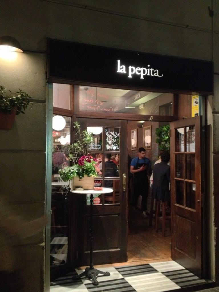 La Pepita Barcelona, Itsy bitsy indulgences