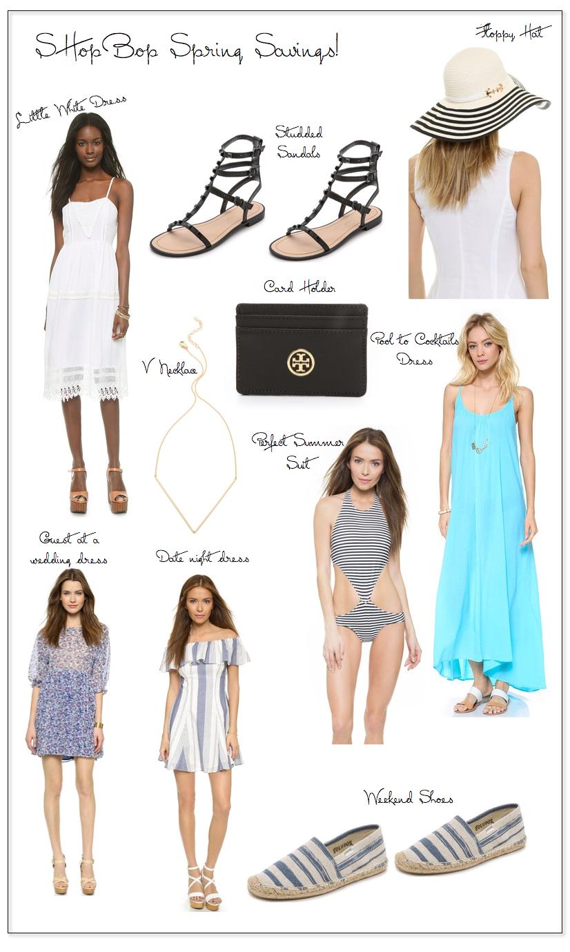 shopbop spring savings