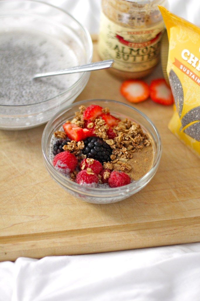 chia seed pudding, dairy free, gluten free, itsy bitsy indulgences
