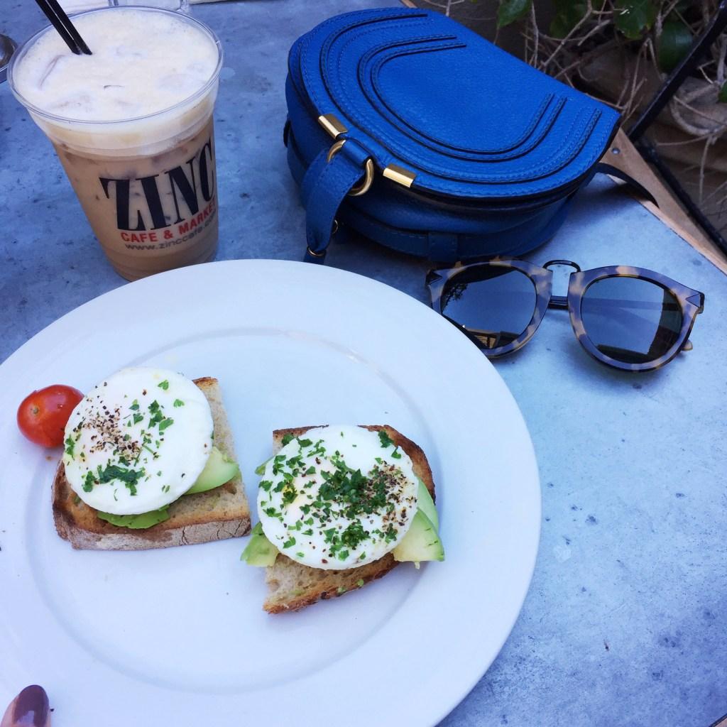 zinc cafe, itsy bitsy indulgences