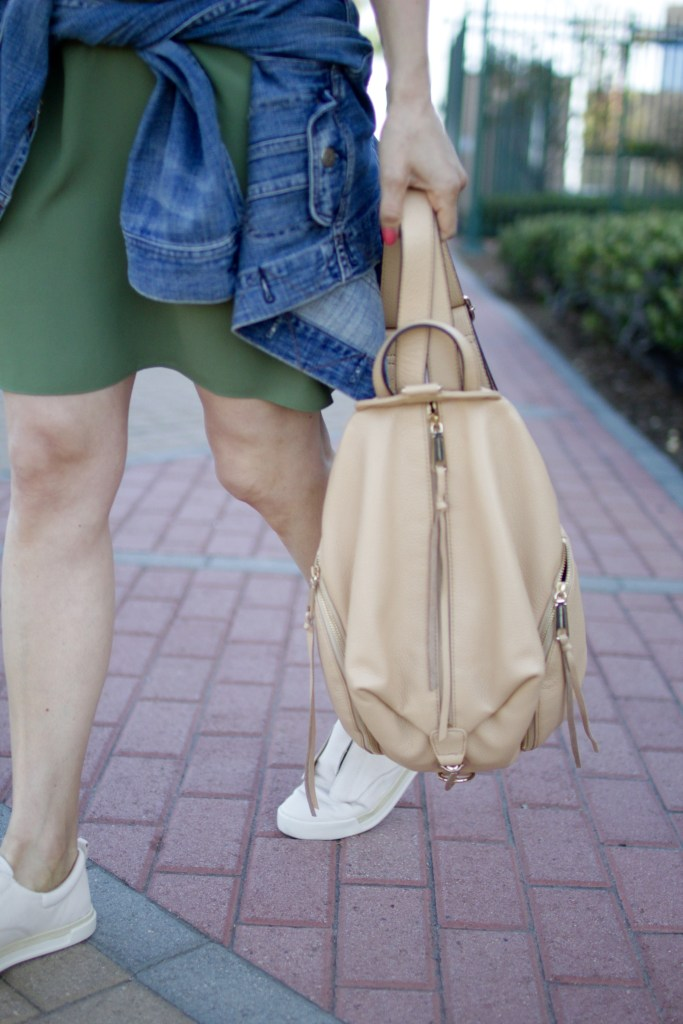 sneakers and backpack, itsy bitsy indulgences
