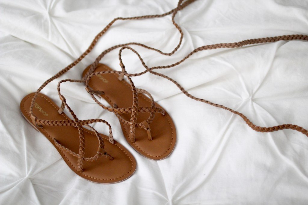 lace up sandals, itsy bitsy indulgences