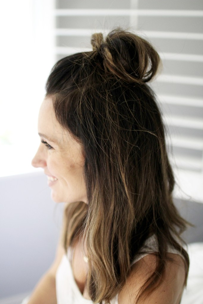3 easy hairstyles for dirty hair days, itsy bitsy indulgences
