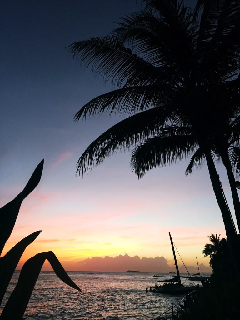 oahu sunset, itsy bitsy indulgences