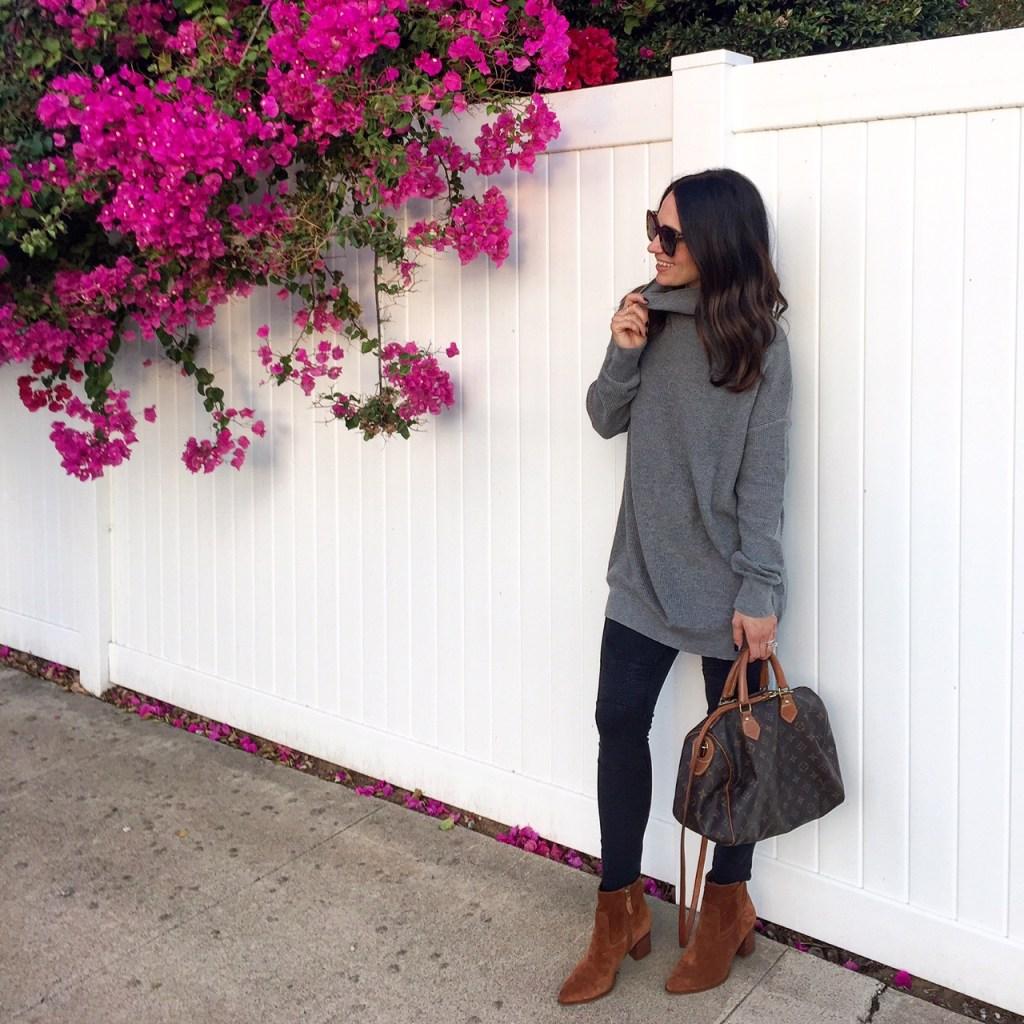 chunky knit sweater, itsy bitsy indulgences