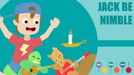 Jack be nimble jack be quick sheet music with chords and lyrics
