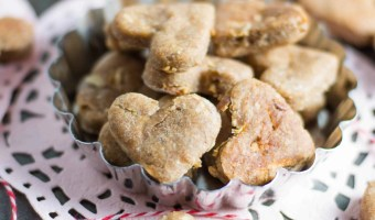 Apple Peanut Butter Dog Treats