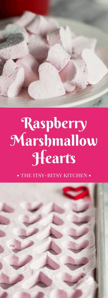 Homemade raspberry marshmallows go perfectly with a cup of hot chocolate and make great gifts for Christmas or Valentine's Day! And this delicious candy is easier to make than you'd think.
