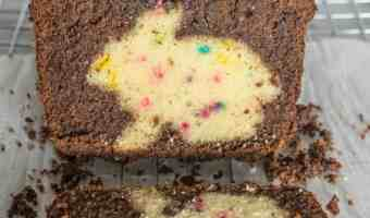 Chocolate Funfetti Hidden Bunny Cake